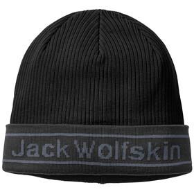 Jack Wolfskin Pride Czapka z dzianiny, black